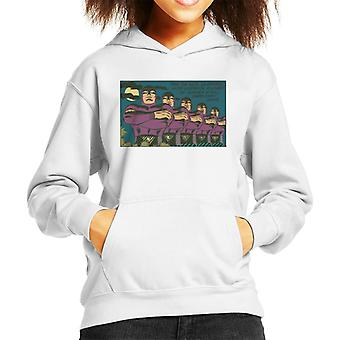 The Phantom Thru The Ages Kid's Hooded Sweatshirt