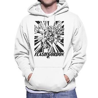 Flash Gordon Space Anzug Trio Männer's Kapuzen Sweatshirt