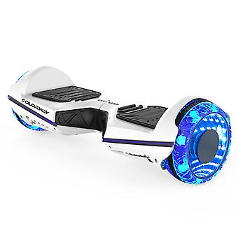 Colorway CX911 Advanced Premium Hoverboard SUV 6.5''' - Electric Scooter Auto-Balance avec Bluetooth et App - Led Wheels - Dual Motor - EU Safety Standard Smart E-scooter