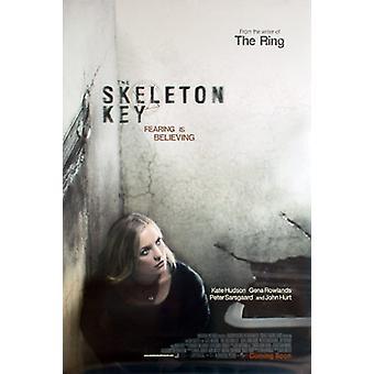 Der Skelett Schlüssel (Doppelseitige Vorlauf) Original Kino Poster