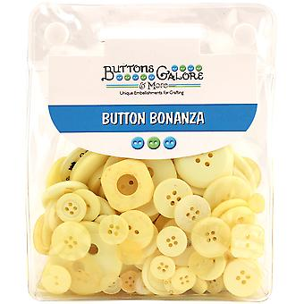 Button Bonanza .5lb Assorted Buttons-Sunshine BB-7