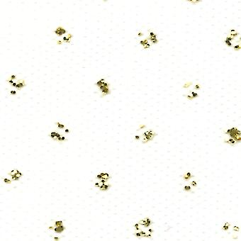 Gold Sparkle Tulle 6