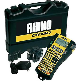 Label printer DYMO RHINO 5200 Koffer-Set Suitable for scrolls: IND 6 mm, 9 mm, 12 mm, 19 mm