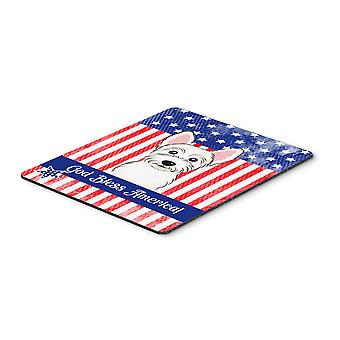 Westie Mouse Pad, Hot Pad or Trivet BB2156MP
