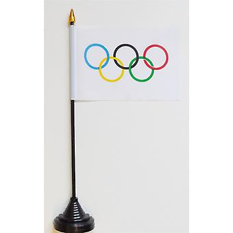 Olympic Games Table Flag