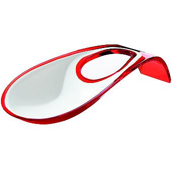 Guzzini Two Tone Red Spoon Rest