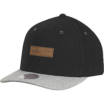 PATCH MARCA Mitchell & Ness FLEXFIT cappelli - Nero