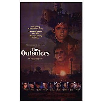 De filmposter van buitenstaanders (11 x 17)