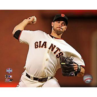 George Kontos match 1 de la 2012 Major League Baseball World Series Action Photo imprimable