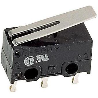 Microswitch 125 Vac 3 A 1 x On/(On) Cherry Switches DG13-B1LA Control unit: IP40/connections: IP00 momentary 1 pc(s)