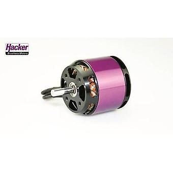 Model aircraft brushless motor Hacker A40-16S V4 8-Pole kV (RPM per volt): 1000 Turns: 16