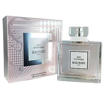 Balmain Eau D'Ivoire for Women 3.3 oz EDT Spray