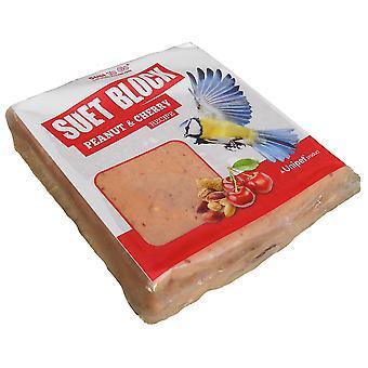Oksetalg gå blok Peanut & Cherry 300g Cdu (pakke med 10)