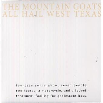 Bjerggeder - alle hagl West Texas [Vinyl] USA importerer