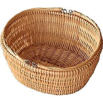 Oval Market Deep Shopping Basket