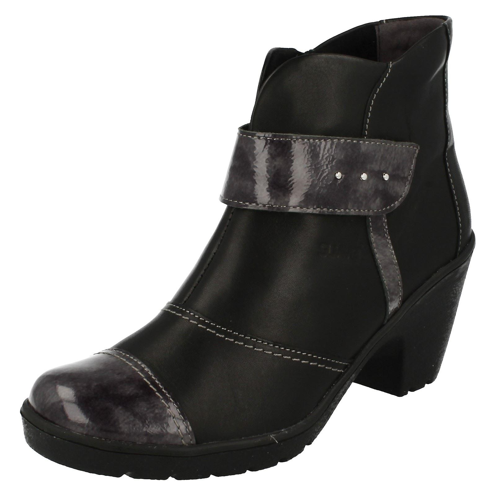 Ladies Suave Smart Ankle Boots Kaley