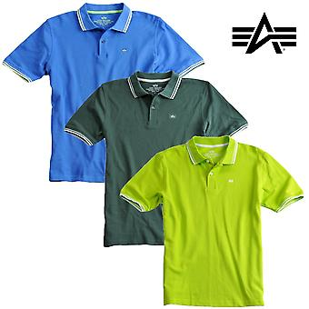 Alpha industries polo camicia twin Stripe Polo II