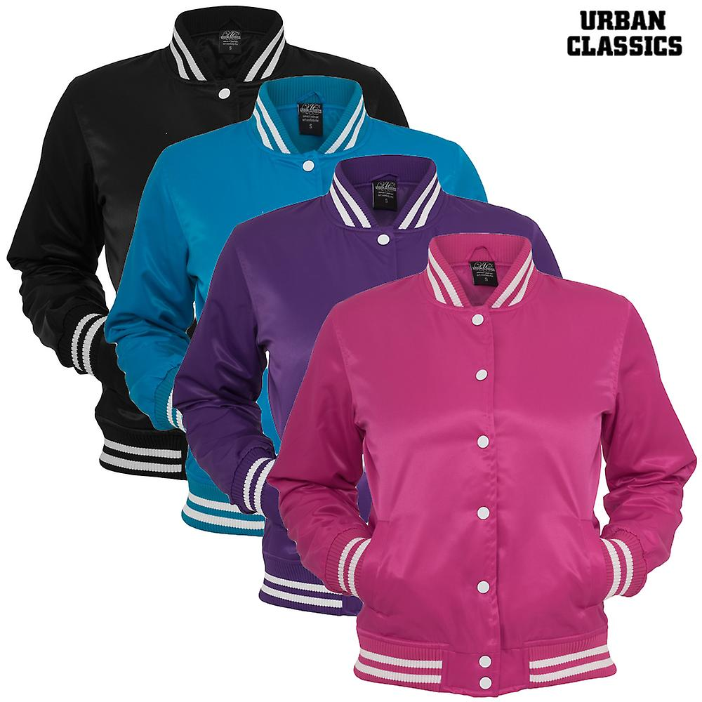 Urban classics ladies shiny College jacket
