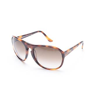 Moschino vrouwen Oversized ronde Frame zonnebril Tortoise