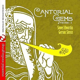 Sawel Kwartin/Gerson Sirota - Sawel Kwartin/Gerson Sirota: Vol. 2-Cantorial perler [CD] USA import