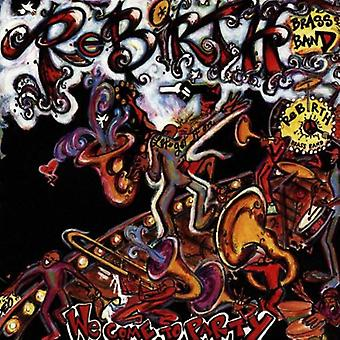 Rebirth Brass Band - We Come to Party [CD] USA import