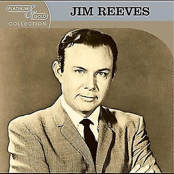 Jim Reeves - Platinum & guld samling [CD] USA importerer