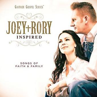 Joey + Rory - Joey + Rory Inspired [CD] USA importerer