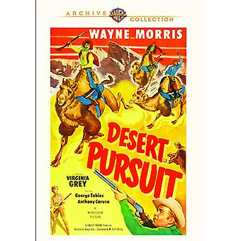 Desert Pursuit [DVD] USA import