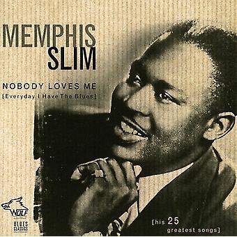 Memphis Slim - ingen elsker mig (hverdag jeg [CD] USA importerer
