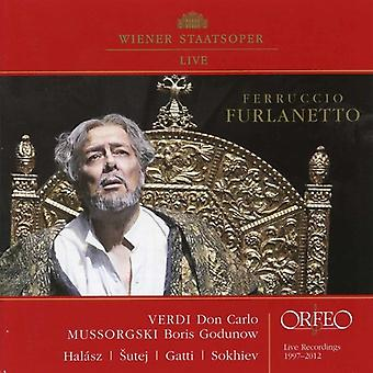 Verdi / Mussorgsky - Ferruccio Furlanetto [CD] USA import