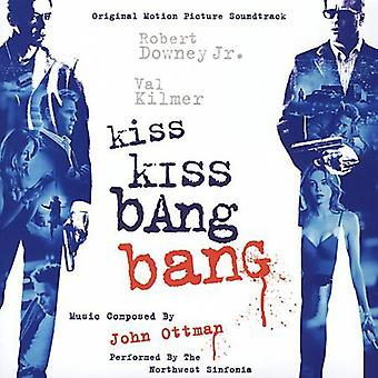 John Ottman - Kiss Kiss Bang Bang [oprindelige Motion Picture Soundtrack] [CD] USA importerer