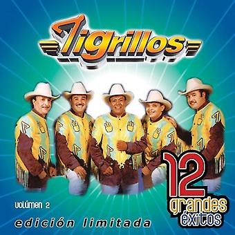 Tigrillos - Tigrillos: Vol. 2-12 Grandes Exitos [CD] USA importerer