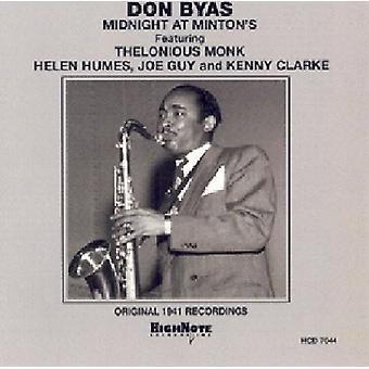 Don Byas - Midnight at Minton's [CD] USA import