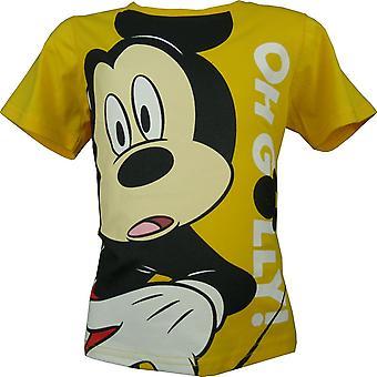 Boys Disney Mickey Mouse Short Sleeve T-Shirt OE1306