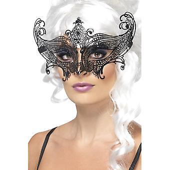 Farfalla Venetian eye mask precious metal Venezia Halloween