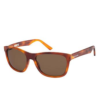 Quiksilver Austin Sunglasses - Matte Tortoise Brown / Red