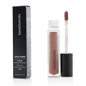 Bareminerals Gen Nude Matte Liquid Lipcolor - Bo$$ - 4ml/0.13oz