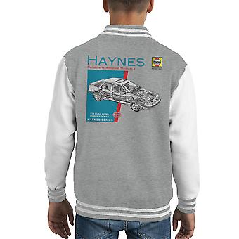 Haynes Besitzer Workshop manuelle 0904 Ford Sierra V6 4 X 4 Kid Varsity Jacket