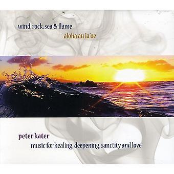 Peter Kater - vind Rock havet & flamme [CD] USA import