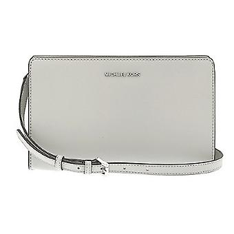 Michael Kors Jet Set Large Leather - Clutch - Pearl Grey - 32F6STVC3L-081