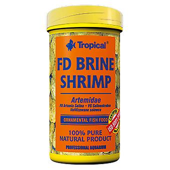 Tropical Brine Shrimp Fd 150 Ml (Fish , Food , Warm Water)
