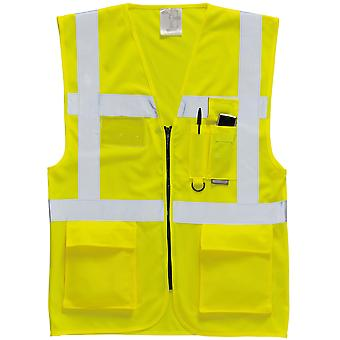 Portwest Hallo Vis Executive / Manager Weste / Safetywear