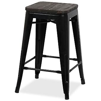 Superstudio Tabouret HIGHT URAL 62 Powdercoating Black