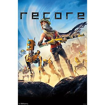 Recore - Key Art Poster Poster Print