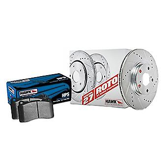 Hawk Performance HK4199.701F Brake Rotor with HPS Pad Kit