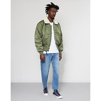 Alpha Industries B-15 Jacke grün
