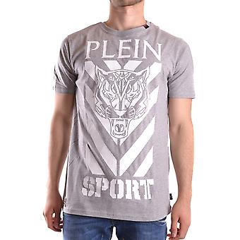 Philipp Plein men's P17CMTK0585SJY001N1046 grey cotton T-Shirt