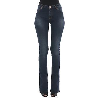 2Nd one ladies 1037701400041 blue cotton of jeans
