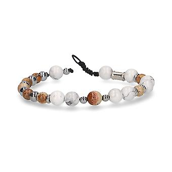 Beamay men's 1727CYGNUSBIANCO white other materials bracelet