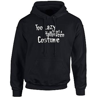 Too Lazy To Get Halloween Costume Funny Unisex Hoodie 10 Colours (S-5XL) by swagwear